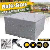 Outdoor Cover Garden Furniture Waterproof Patio Rattan Table Cube Set All