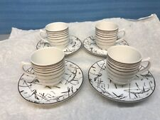 Tanger Porcel Expresso Cups. Lot Of 4 Made In Portugal.