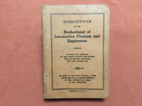 Constitution of the Brotherhood of Locomotive Fireman and Enginemen, 1941