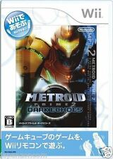 Used Wii Metroid Prime 2: Dark Echoes Nintendo JAPAN JP JAPANESE JAPONAIS IMPORT