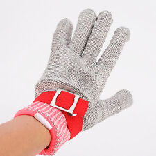 Safety Cut Resistant S/Steel Mesh Butcher Glove upgraded with Dyneema version M