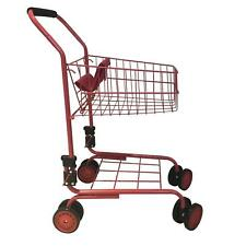 Shopping Cart Toy Kids Toddler Pretend Play Folds Boy Girl Gift Grocery New