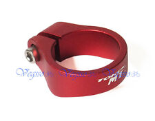 NEW TOKEN TK164 MTX ALLOY SEATPOST CLAMP FOR MTX 34.9MM, RED