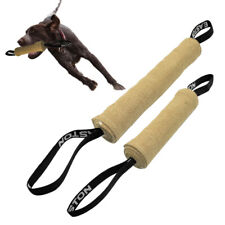 Jute Young K9 Dog Chew Bite Tug With 2 Control Handles Training Obedience Boxer