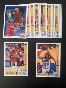 1991/92 Upper Deck Philadelphia 76ers Team Set 17 Cards
