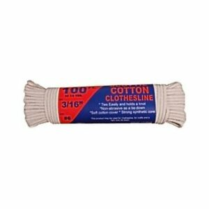CLOTHESLINE 100FT COTTON ROPE