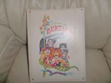 THE BEATLES ILLUSTRATED LYRICS BOOK GENUINE 1972 FIRST EDITION ALAN ALDRIDGE