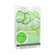 VOESH Pedicure Spa Set 4-in-1 Cucumber Salt Scrub Masque Massage Lotion