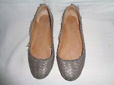 COACH Women's Ballet Flats Gray Size 8 B