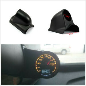 2.4in/60mm Car A Pillar Gauge Pod Single Hole Meters Holder Fit For Left Drive