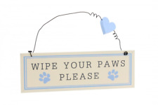 Best In Show - Wipe Your Paws Please - Hanging Sign