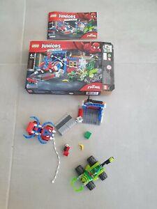 Lego Marvel 10754 : Spiderman vs Scorpion (100% complet boite + notice)