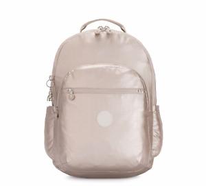 Kipling Large Backpack SEOUL XL Laptop Protection METALLIC GLOW SS20 RP £132
