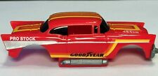 TYCO 57 CHEVY BODY ONLY HO SCALE, REQUIRES WIDE PAN TYCO CHASSIS. MISSING BUMPER