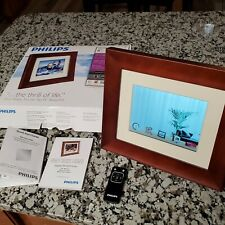 "Philips 8"" Home Essentials Digital Photo Frame LCD Panel SPF3480T/G7"