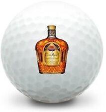 12 - 1 Dozen Titleist Pro V1x Mint (Crown Royal Bottle LOGO) Used Golf Balls