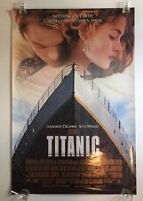 TITANIC MOVIE POSTER 2 Sided ORIGINAL Version A 27x40 LEONARDO DICAPRIO