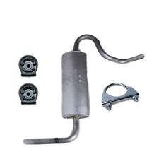 Lada Niva 4X4 2121 1700 Endschalldämpfer Schalldämpfer Auspuff + Schelle EURO 4