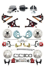 """GM 1964-72 A-Body Front & Rear Disc Brake 8"""" Booster Control Arms Package"""