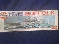 Airfix 03203  1/600 HMS Suffolk  Series 3   New   Sealed