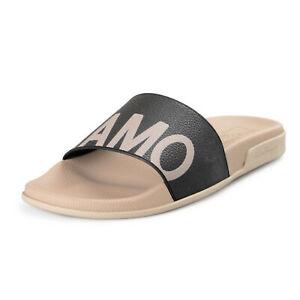 """Salvatore Ferragamo Men's """"Amos"""" Rubber Slides Flip Flops Shoes US 9M IT 42M"""