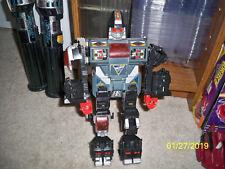 Vintage 80s Gobots go bots power suit combiner black