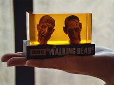 New The Walking Dead Creepy Zombie Walker Head Resin Crystal Car Home Desk Gift