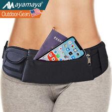 Sport Fanny Pouch Running Belt Waist Pack Bag Phone Holder For iPhone Samsung