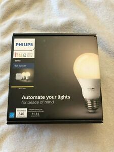 Philips Hue White Starter Kit 2 pack (Round Bulbs 840lm 9.5W)
