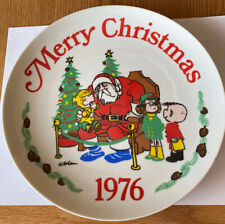Vintage 1976 Dennis The Menace Christmas China Decorative Collector Plate