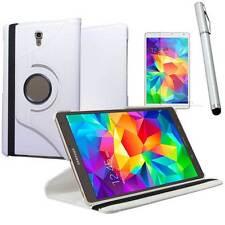 Pellicola+Pennino+Custodia Rotante BIANCA per Samsung Galaxy Tab S 8.4 T700 T705