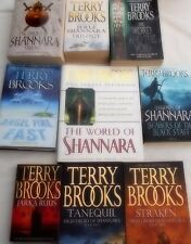 TERRY BROOKS - 15 OF HIS BESTSELLERS IN 9 VOLUMES - INCL.THE WORLD OF SHANNARA