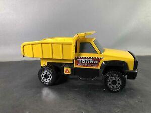 Yellow Tonka Steel Quarry Dump Truck Toy