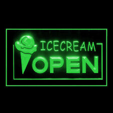 110009 Open Ice-cream Cafe Shop Chocolate Shop Display Led Light Sign