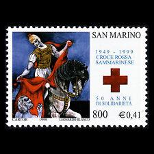 San Marino 1999 - 50th Anniversary of the San Marino Red Cross - Sc 1465 MNH
