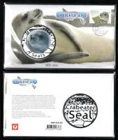 Ltd Ed 1676/3500 CRABEATER SEAL PNC with BEAUTIFUL LARGE MEDALLION & STAMP MINT