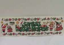 "Santa's Little Helpers 12"" Christmas Border STICKERS SCRAPBOOKING STICKER PARADE"