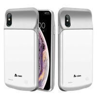 SLIM AND DATA-SYNC 4000mAh Battery Case Power Bank Cover for iPhone XR 6.1 inch