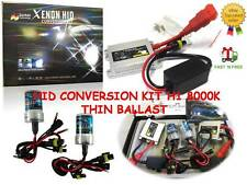 5 sets x Bi - 35W XENON HID CONVERSION KIT H1 8000K THIN BALLASTS ,LIGHT BLUE