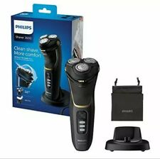 Philips New Series 3000 Wet or Dry Men's Electric Shaver with a 5D Pivot & Flex
