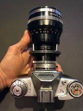 Voigtländer ZOOMAR Lens 36mm-82mm f/2,8 with Sun shade and 2 focar close-up lens