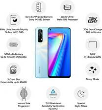 "Realme 7 8GB RAM 128GB 6.5"" Dual SIM 64+8+2+2MP Camera Unlocked Googleplay Phone"