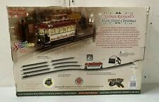 Bachmann Norman Rockwell's Main Street Christmas Train Battery Operated On30