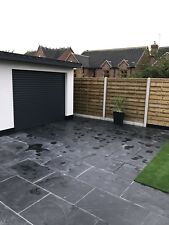 Anthracite grey ral7016 electric roller Garage Door Insulated Nationwide service