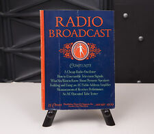 New ListingRadio Broadcast Magazines, 1929, Excellent Condition, 12 Issues.