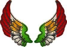 Sticker Wings Biker Biker Flag Country Kurdistan