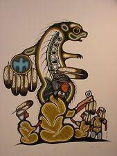 The Story Teller by Lloyd Kakegamic Ltd Edition Print Great Canadian Print Co