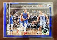 2019-20 NBA HOOPS Premium Stock Luka Doncic Blue Holo Prizm Courtside SP