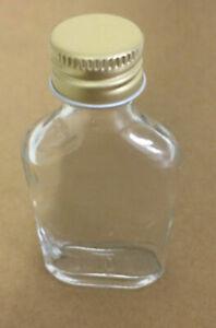 10 Stück Taschenflasche, Glasflasche 20 ml mit Schraubverschluss