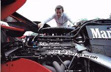 Fotografía 9x6, Hans Mezger Tag-motor Porsche Diseñador 1984 Retrato